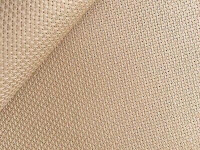 Antique Brown Dirty 14 Count Zweigart Aida cross stitch fabric - size options