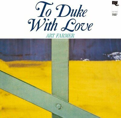 ART FARMER-TO DUKE WITH LOVE-JAPAN CD From japan