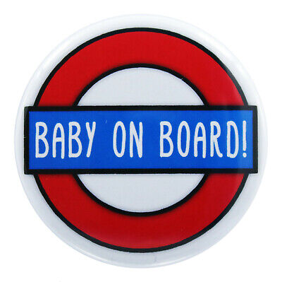 Baby on Board Pregnancy Badge (44mm/ 1.75 Inch)