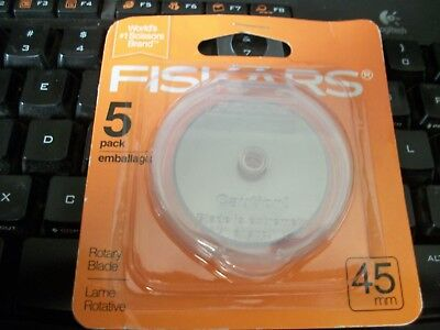 Fiskars Quality 5 Pack 45mm Rotary Blades