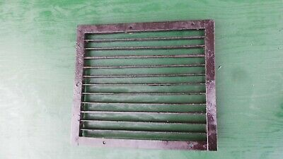 Vintage VICTORIAN Cast Iron Floor Grille 16x14 Heat Grate Register