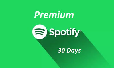 [FAST DILIVERY&NOT SHARED] Spotify 1-Month PREMIUM (30 DAYS) OWN ACCOUNT