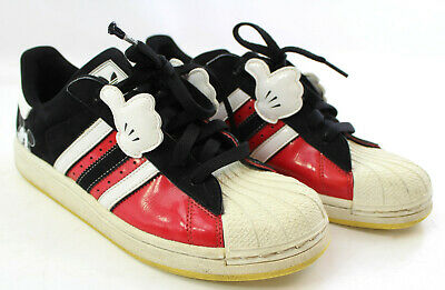 cheaper 65337 e94b5 RARE Adidas Disney Mickey Mouse Glove Superstar Shoes Mens Size 6.5
