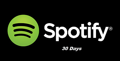 Spotify 1-Month PREMIUM (30 DAYS) OWN ACCOUNT [FAST DILIVERY&NOT SHARED]