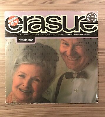 "Erasure - Am I Right?  12 Mute 134 12"" EP single 3 for 1 on postage"