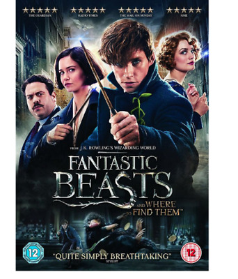Fantastic Beasts And Where To Find Them DVD. Sealed with free delivery.