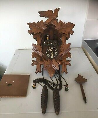 old Musical clock