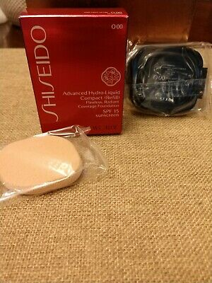 Shiseido Advanced Hydro Liquid Compact Refill - O00- Very Light Ochre .42oz  NIB