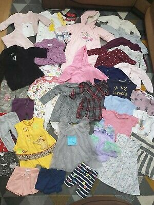 Huge Bundle Of Baby Girl Clothes 9-12months #45 NEXT FEARNE ZARA MYLEENE KLASS