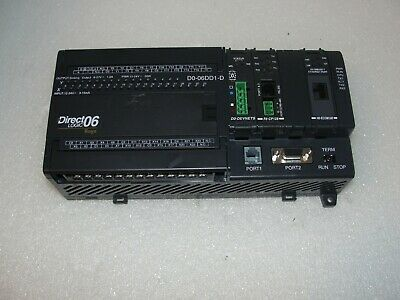 USED TESTED CLEANED AUTOMATION DIRECT D0-06AA D006AA