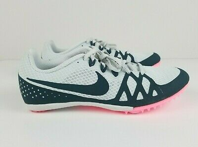 huge discount 1134f 371eb NEW NIKE ZOOM RIVAL MD8 Size 8 Womens Track Racing Shoes Spikes Pink 806559