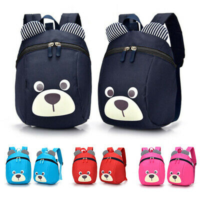 Girls Boys Backpack Cartoon Bear Shape Children Kids Rucksack Travel School Bags