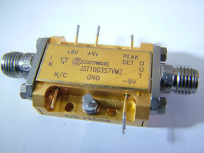 10MHz - 5.8GHz RF amplifier Gain: 31dB PO: 25dBm Miteq JST10G3S7VMZ  Auction #3