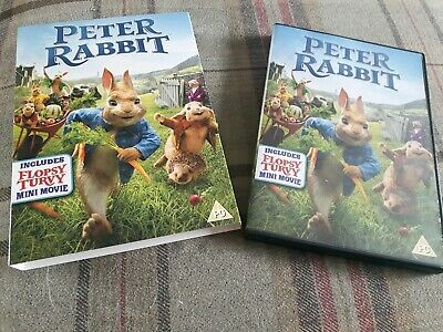Peter Rabbit [DVD] - Region 2 UK with slipcover and includes flopsy mini movie