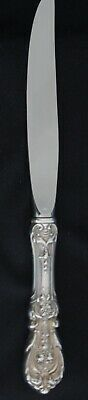 "Reed & Barton Francis I Modern Blade 9 1/4"" Knife Sterling Silver Only Two  Left"