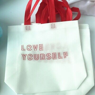 KPOP BTS World Tour Love Yourseld Concert MD Handbag Bag Bangtan Boys JIN JK V
