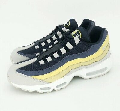 Nike Air Max 95 Essential Mens Running Shoes Lemon Wash Size 11.5