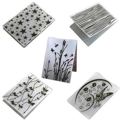 Embossing Mold Folder DIY Scrapbook Cards Making Butterfly Star Template Tool