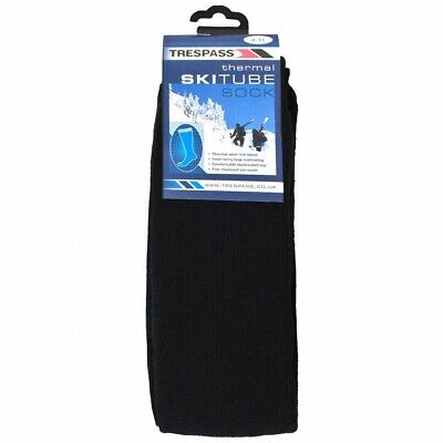 Trespass Tubular Adults Luxury Ski Tube Thermal Socks Mens Womens Ladies 4-11