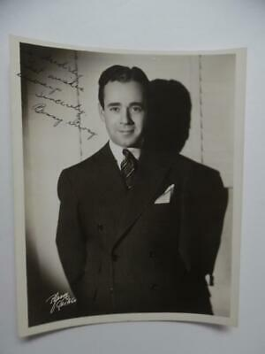 1941 BENNY STRONG Chicago Jazz Bandleader Signed Inscribed Dated Photo Vintage V