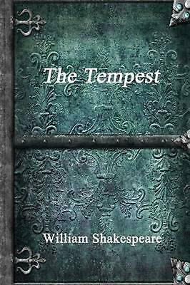The Tempest by William Shakespeare (English) Paperback Book Free Shipping!