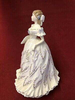 """ROYAL WORCESTER Victorian Era Collection """"THE Last Waltz """""""
