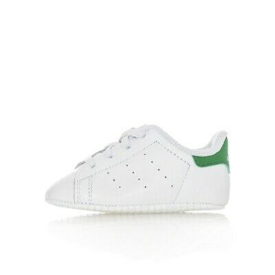 super popular bfff0 8e307 Sneakers Bambino Adidas Stan Smith Crib B24101 Baby Leather Style Tribes  Bianco