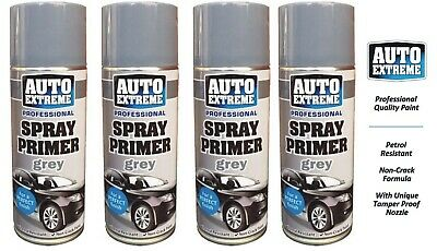4 x 200ml Gun Metal Grey Alloy Wheel Spray Restorer Bike Car Auto Paint Satin