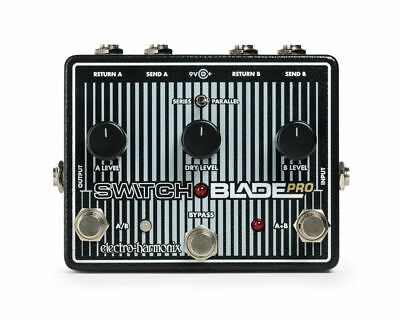 Electro-Harmonix Switchblade Pro Deluxe Switcher effects pedal