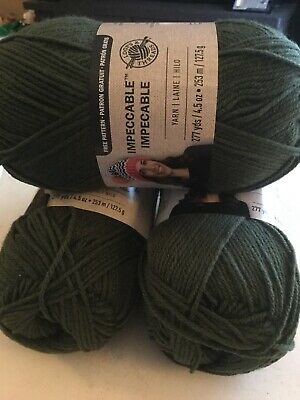 LOT OF 3 skeins of Loops and Thread Biggie - $40 00   PicClick