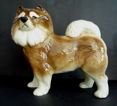 Large Coopercraft Chow Chow Dog Figurine Ornament Figure Collectable Gift