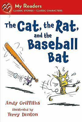 The Cat, the Rat, and the Baseball Bat  (ExLib) by Andy Griffiths
