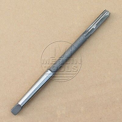 10mm Machine HSS MT1 Morse Taper Shank Milling Reamer H8