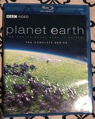 BBC Planet Earth Replacement Bluray Disc Only *