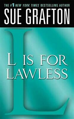 """""""l"""" Is for Lawless: A Kinsey Millhone Novel by Grafton, Sue -Paperback"""