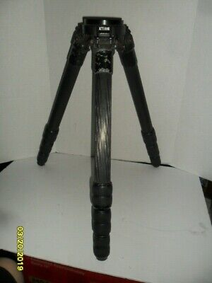 """Gitzo 4 Section Carbon Fiber Tripod with G1424 Bowl 23"""" to 65"""" Tall"""