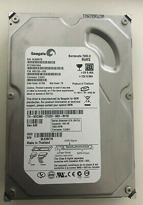 "Seagate 160GB Internal Hard Drive SATA 3.5"" For PC Desktop CCTV"