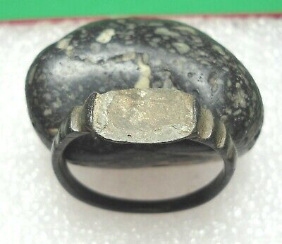 Ancient Roman Bronze Ring Original Authentic Antique Rare R696