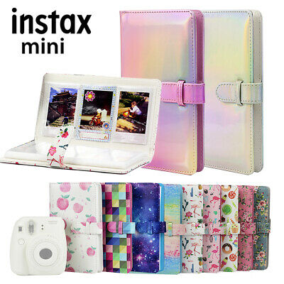 Fujifilm Instax Mini Film Photo 96 Pocket Fashion Album PU 3 inch card Organizer