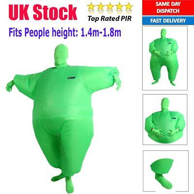 Adults Big Head Inflatable Fancy Dress Costume Prop Blow Up for Halloween R8Q0 Fancy Dress & Period Costumes