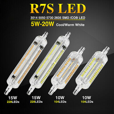 R7S J78 J118 J135 J189 LED Lamp Spotlight Buildings Halogen Floodlight Replaces
