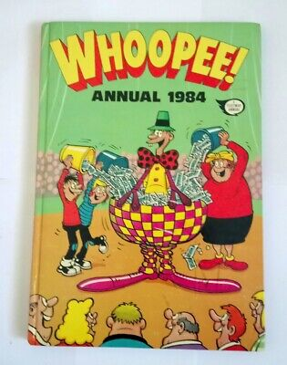 WHOOPEE! Comic Annual 1984 Collectable Hardcover Book Very Good Condition UK   *