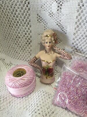"""Half Doll""""Gai"""" With Cotton,Beads and FREE Pattern"""