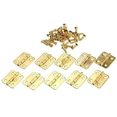 Mini Hinge Small Decorative Jewelry Wooden Box Cabinet Door Hinges with Nails