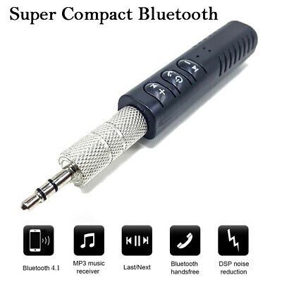 New Wireless USB Bluetooth V5.0 Adapter 3.5mm Receiver For Car AUX Music Audio