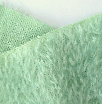 Mint green hand dyed mohair fur.  Perfect for making smaller teds and softies