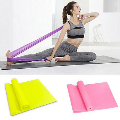 Resistance Bands Power Heavy Strength Exercise Fitness Crossfit Yoga Pilate AU