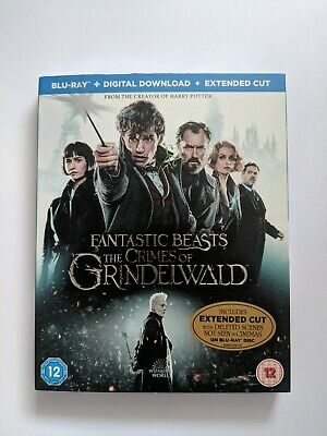 Fantastic Beasts The Crimes of Grindelwald Blu Ray - Brand New Sealed - UK Stock