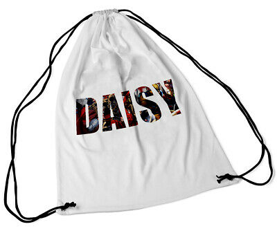 Personalised Drawstring Bag Any Name Elephant Swimming School Nursery Pe Clothing, Shoes & Accessories