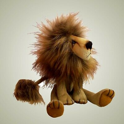"""Charlie lion sewing pattern.   11"""" tall fabric lion to sew"""